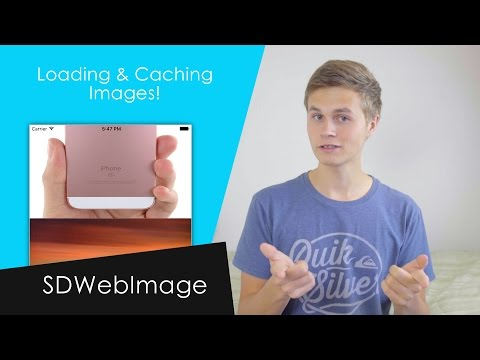 Loading and Caching Images! (SDWebImage : Swift 3 in Xcode 8)