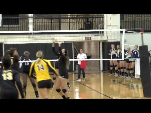 TJC Volleyball Wins Season Opener - YouTube