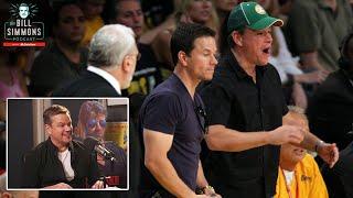 Phil Jackson Screamed at Matt Damon and Mark Wahlberg at a Celtics-Lakers Game