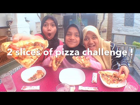 2 slices of pizza challenge