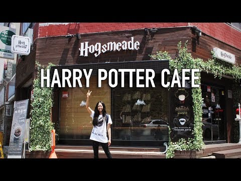 Harry Potter Cafe (Hogsmeade) + Daegu Art Factory