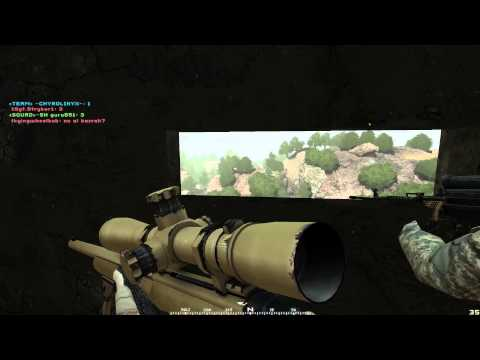 Project Reality v1.036 ► Korengal Valley, Delta Force Recon Squad