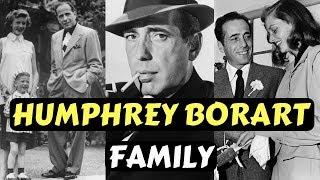 Actor Humphrey Bogart Family Photos With Wife Spouse Lauren Bacall and Children Leslie Bogart
