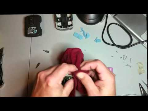 Ryobi Drill Lithium  battery pack rebuild