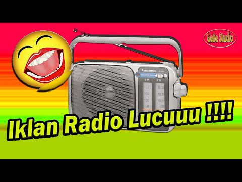 IKLAN RADIO LUCU TOKO BANGUNAN