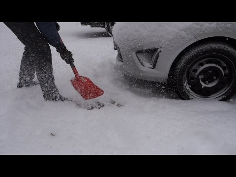 AAA Sport Utilitly Snow Shovel for Car Test & Review