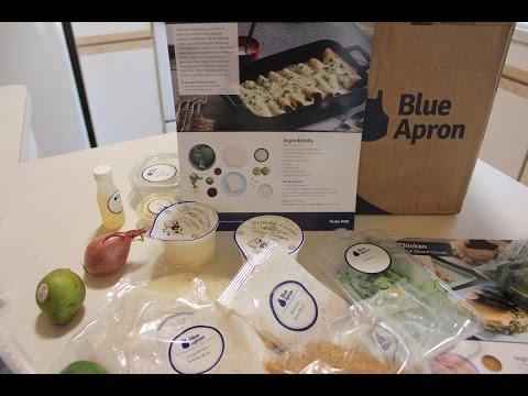Blue Apron Unboxing #14