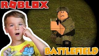 BATTLEFIELD 1 em ROBLOX | UNIDADE 1968: VIETNAME | SHOOTER em primeira pessoa para crianças