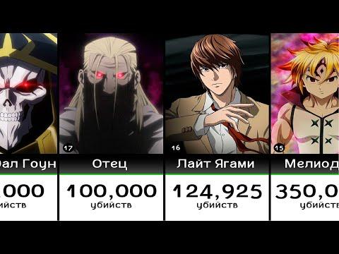 Самые лучшие убийцы в аниме