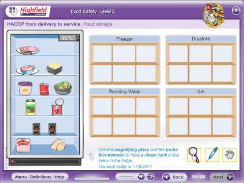 Food Safety Level 2 e-learning