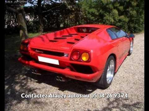 Lamborghini Diablo Occasion Visible A Vacquiers Presentee Par Alauzy