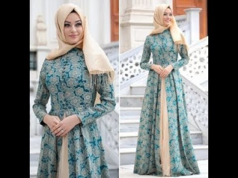 Model Dress Muslim Untuk Pesta Edisi Terbaru 2018 Youtube