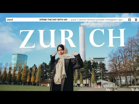I actually went shopping? Spend a day with us in Zürich, Switzerland