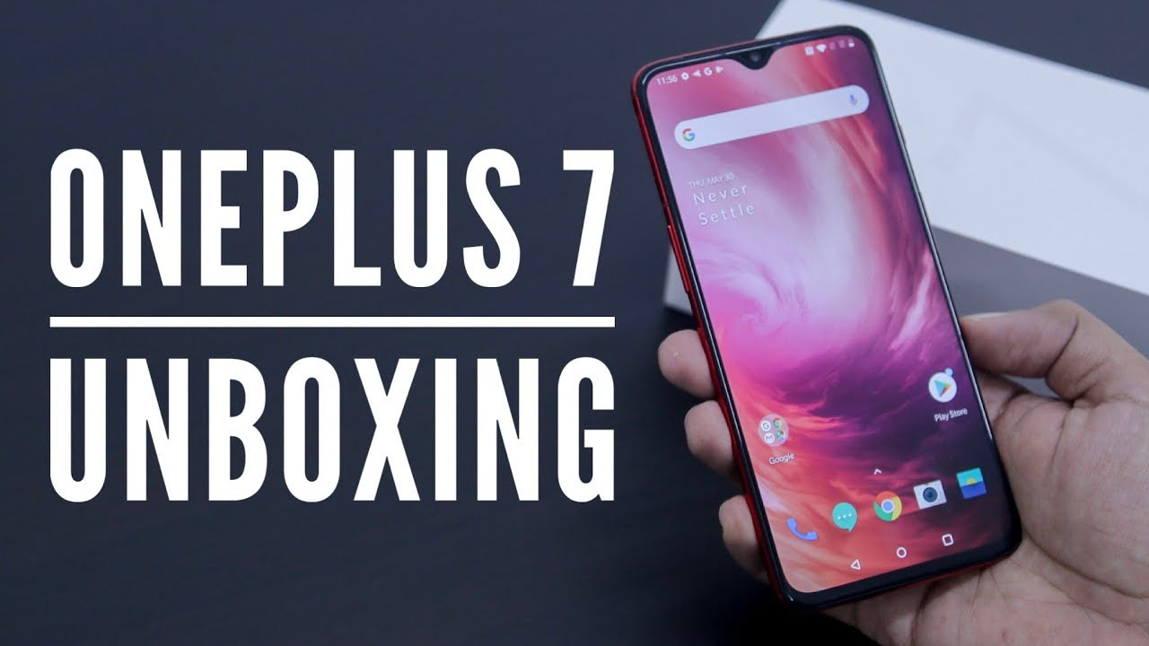 OnePlus 7 Unboxing and Overview