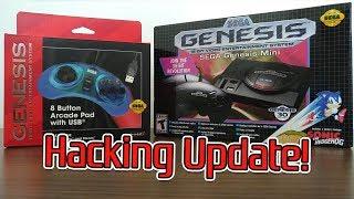 Sega Genesis Mini Hack Update and Unboxing
