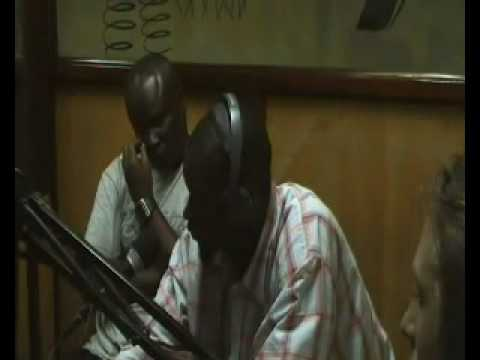 Football Gambia UK Charity - Interview on West Coast Radio in the Gambia West Africa May 2010 Part 3