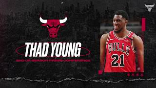 FULL AUDIO: Thad Young address media at End of Season Press Conference | Chicago Bulls
