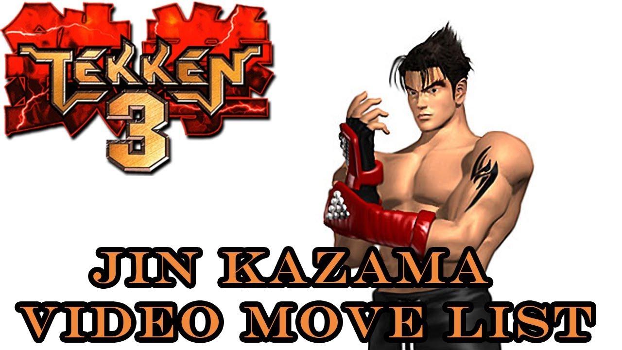 Tekken 3 Jin Kazama Move List Youtube
