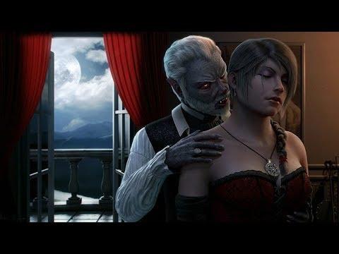 Фильм ужасов. вампиры. Ночной полет