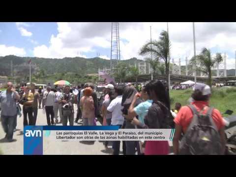 El Poliedro de Caracas desbordado de compromiso democrático y vocación de paz