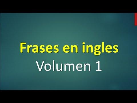 Lista de frases básicas en inglés principiantes.