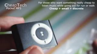Cheap Pocket MP3 for running under 2€