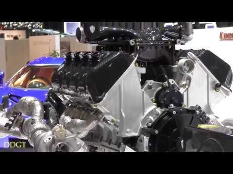 Koenigsegg Regera Hybrid Powertrain Called Koenigsegg Direct Drive (4K)