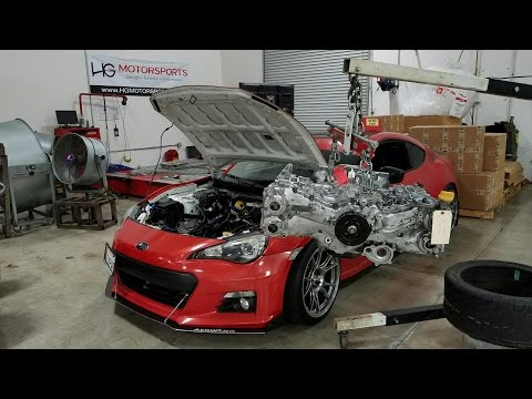 THE BRZ IS BACK WITH A BUILT MOTOR