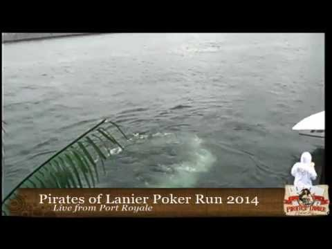 Pirates of Lanier Poker Run Live from Port Royal
