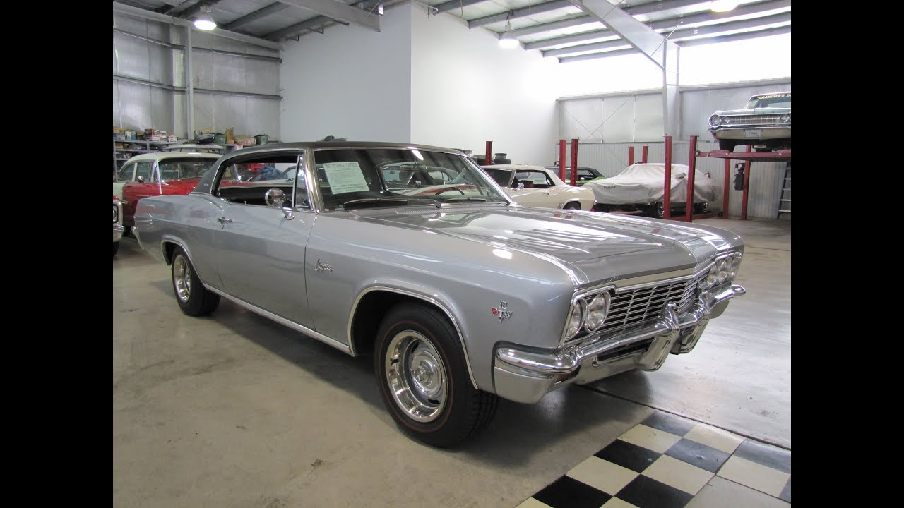 Classic Muscle Car For Sale 1966 Chevy Caprice Sold Impala 2 Door Erics Cars Youtube
