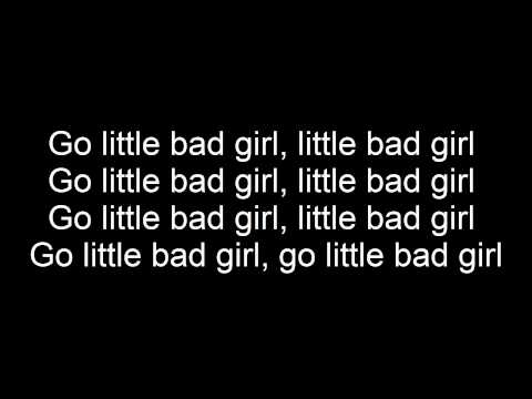 David Guetta ft. Taio Cruz-Little Bad Girl(Lyrics)