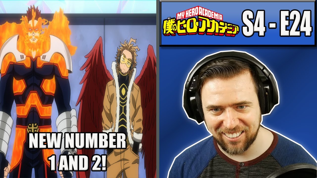 JAPANESE HERO BILLBOARD CHART - My Hero Academia Season 4 Episode 24 - Rich Reaction