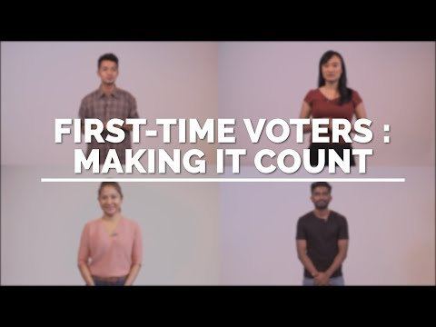 Firsttime voters: Making it count