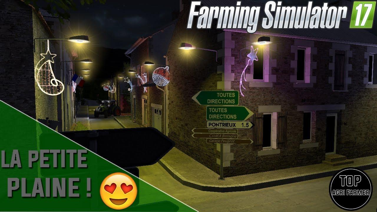 la petite plaine pr sentation de la map farming simulator 17 youtube. Black Bedroom Furniture Sets. Home Design Ideas