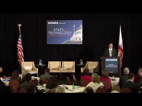 California State CIO Carlos Ramos Gives State of Technology Address