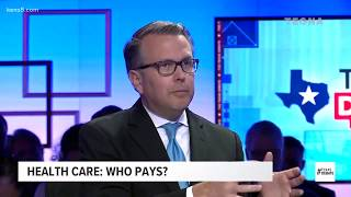 TEXAS DEBATE: Who pays for health care?