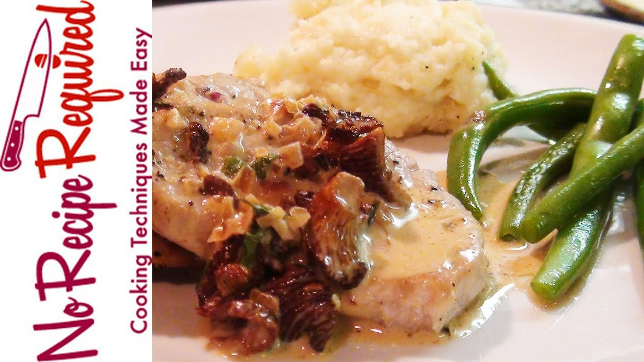 Veal Scallopini With Mushroom Cream Sauce Noreciperequired Com Youtube,How To Clean A Plastic Bathtub