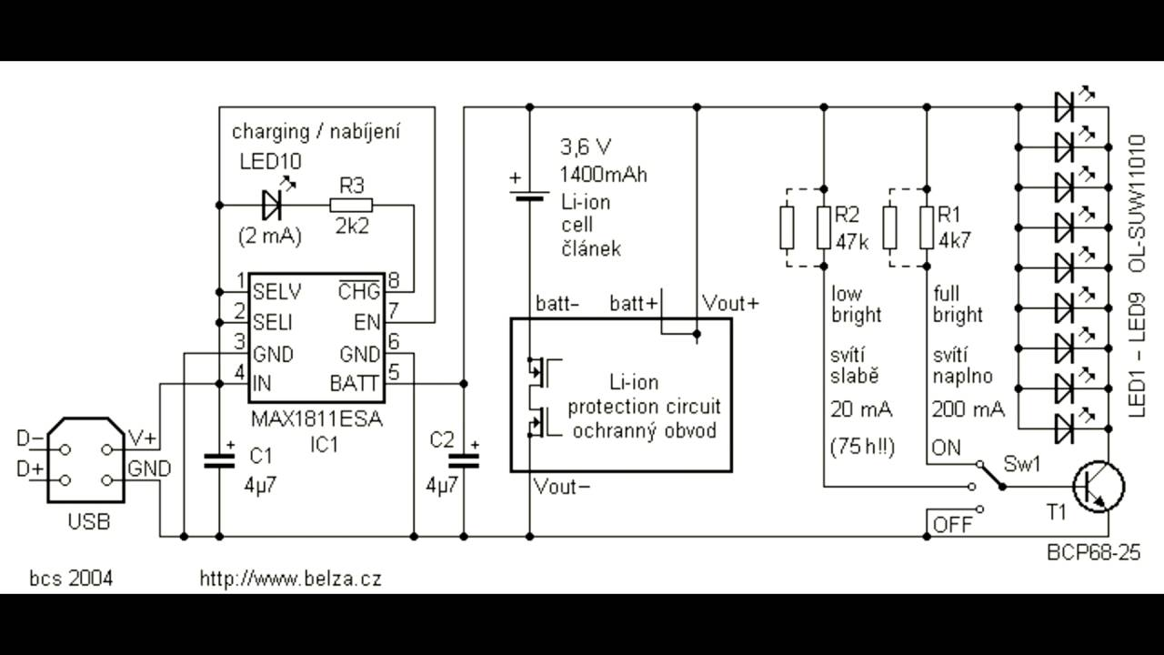 Flashlights Finder Circuit Using Lm3909 Oscillator