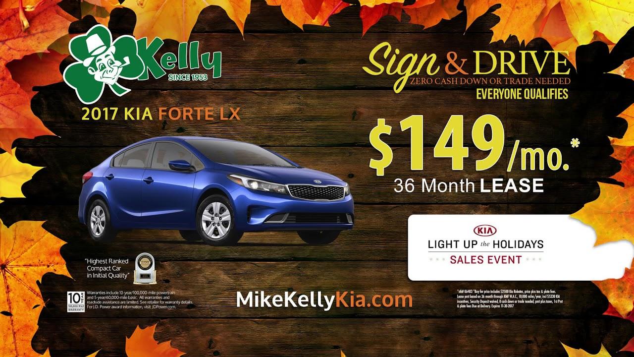 Kia Forte Deals   November 2017   Mike Kelly Kia