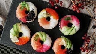 【贅沢かわいい】寿司ドーナッツの作り方