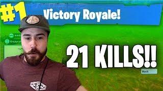 Stormen 21 KILL WIN in Fortnite (Fortnite Gameplay)