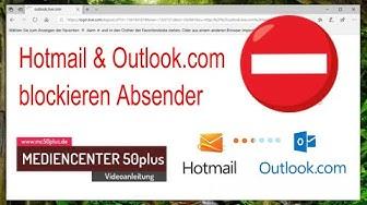 Blockierte T-Online.de E-Mail Adressen bei Outlook.com und Hotmai frei geben.l