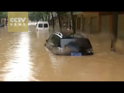 Southern China floods: 14 people killed, one missing in Wuhan