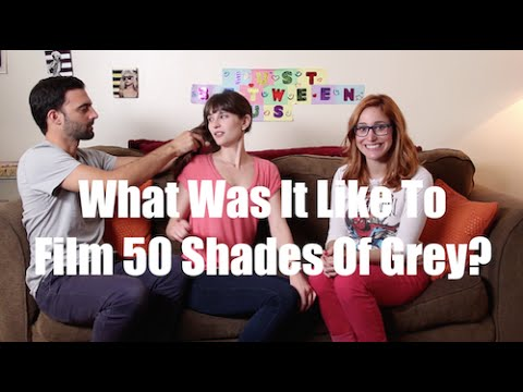 What Was It Like To Film 50 Shades Of Grey? I Just Between Us