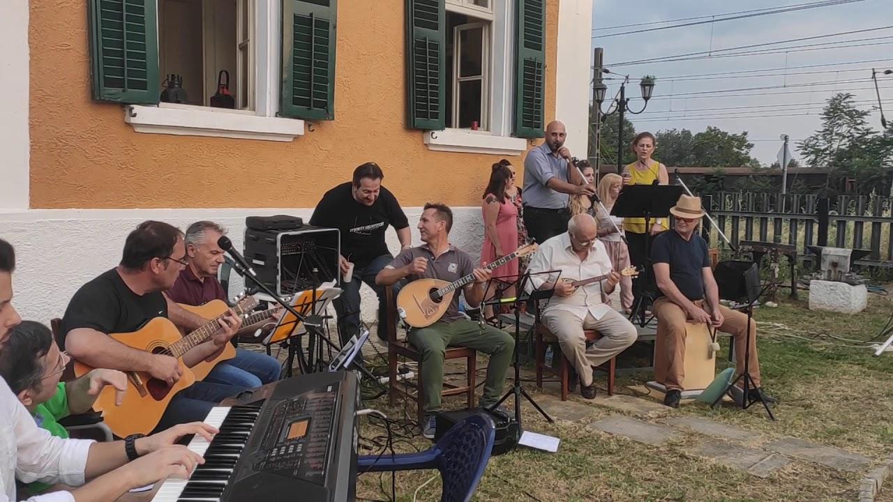 Σιδηροδρομικά Νέα. Συναυλία στο σιδηροδρομικό μουσείο Θεσσαλονίκης ...