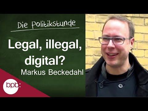 23. Politikstunde: Legal, Illegal, Digital?