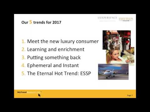 The 5 Hottest Luxury Travel Trends for 2017