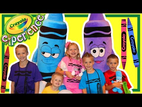 Crayola Experience Pennsylvania || Huge Indoor Playground!