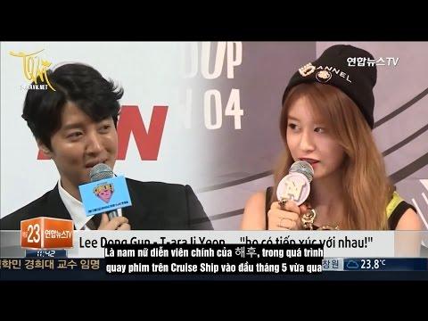 [T-aravn.net] [Vietsub] Jiyeon - Lee Dong Gun đang hẹn hò @ Yonhapnews TV