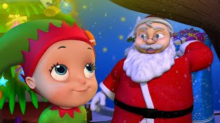 Christmastime! Christmastime! Christmastime! | Jingle Bells Christmas Song for Kids | Infobells